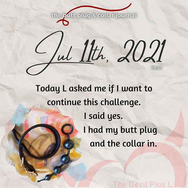 The Butt Plug & Collar Journal 11