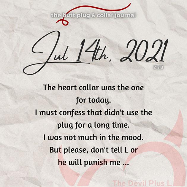 The Butt Plug & Collar Journal 14
