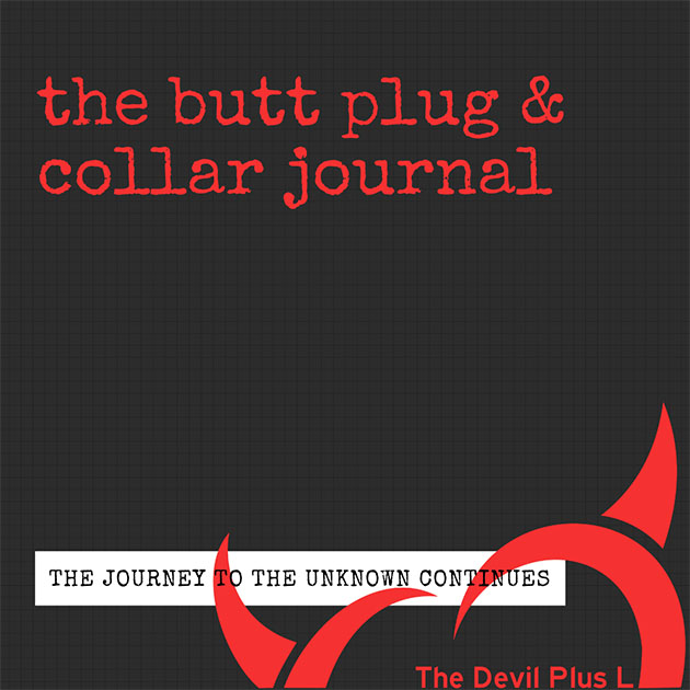 The Butt Plug & Collar Journal Cover